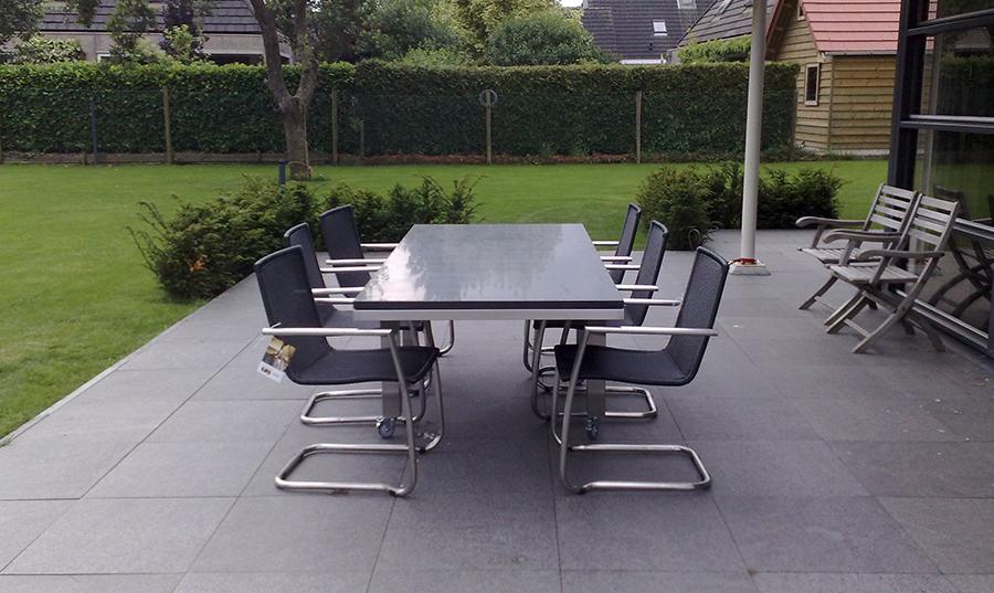 Product RVS tafel