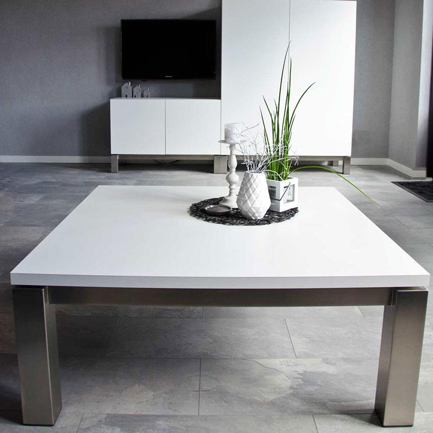 RVS salontafel