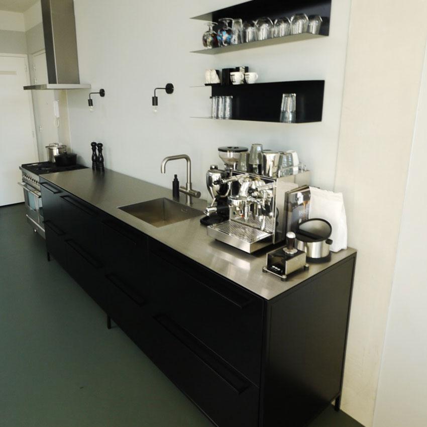 RVS keukenblad
