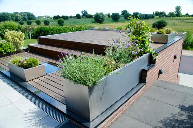 RVS plantenbakken: mooi anders